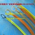 低价供应TZX-15黄绿法兰静电跨接线 防静电跨接线 接地跨接线带 5