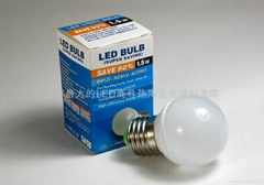 LED陶瓷燈泡E27A-1.5W