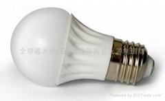 LED陶瓷燈泡E27B-3W