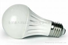 LED陶瓷燈泡E27E-7W