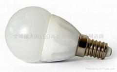 LED陶瓷燈泡E14A-1.5W