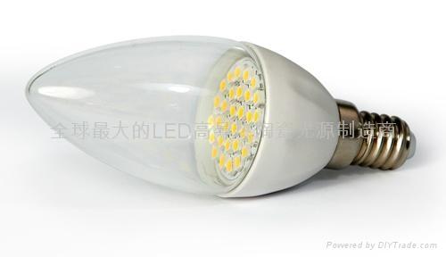 LED陶瓷蠟燭燈泡E14B-1.5W 1