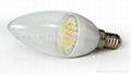 LED陶瓷蠟燭燈泡E14B-1