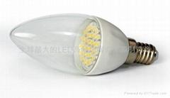 LED陶瓷蠟燭燈泡E14B-1.5W