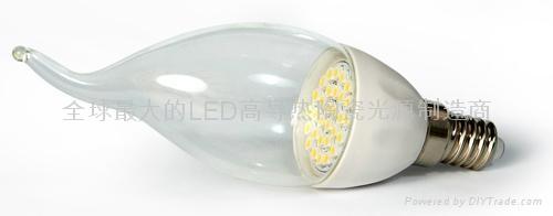 LED陶瓷蠟燭燈泡E14C-1.5W 1