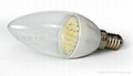 LED陶瓷蠟燭燈泡E14D-1.5W 2