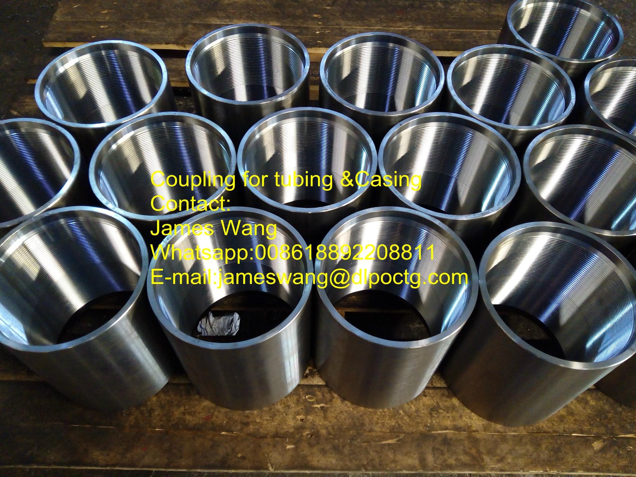 """3-1/2"""" EUE Tubing Coupling J55/K55/N80/L80/P110 API 5B 1"""