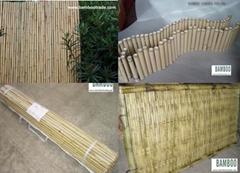 竹籬笆 (竹圍欄) 竹捲簾