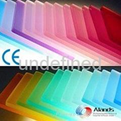 Color Plexiglass PMMA Sheets
