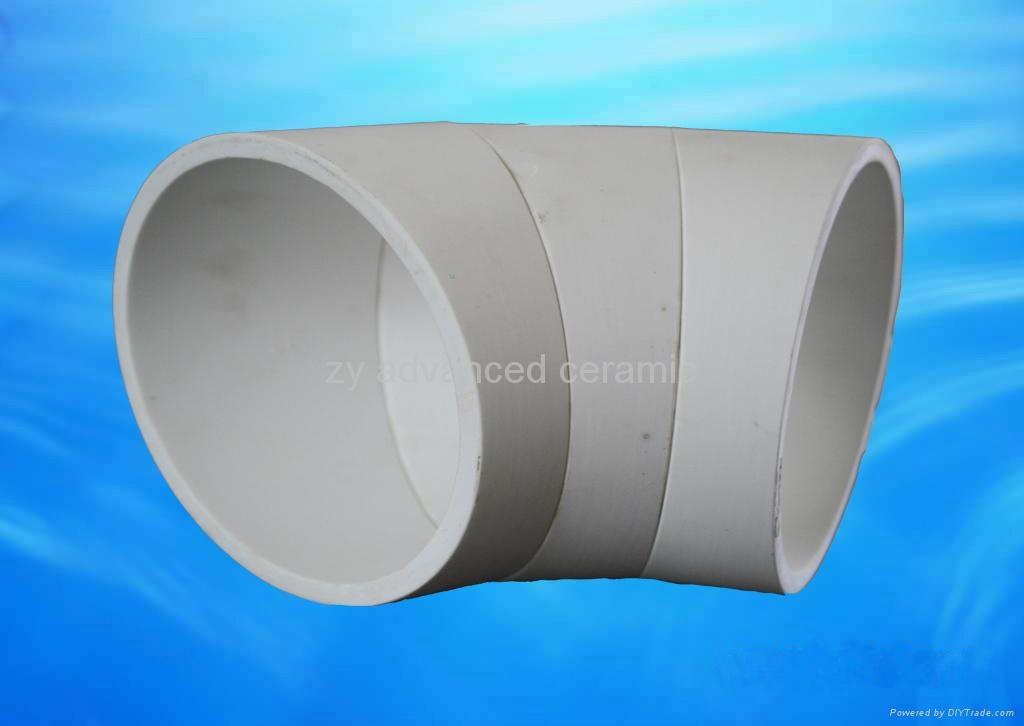 耐磨氧化鋁彎頭襯裡 2