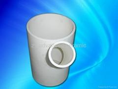 耐磨氧化铝三通陶瓷管
