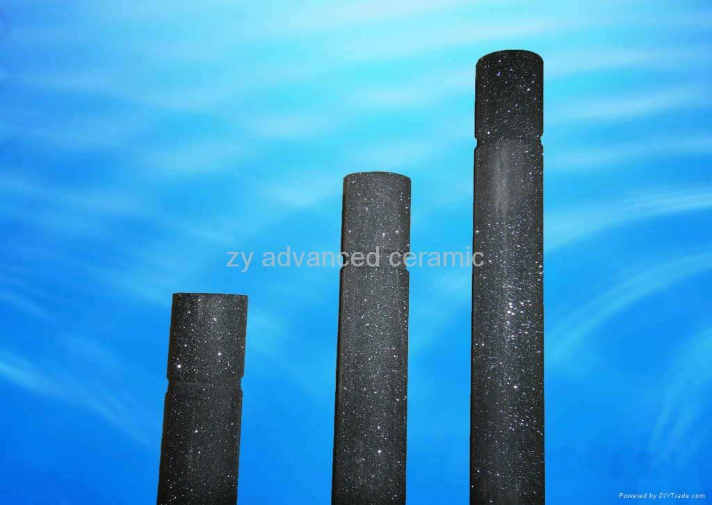 重結晶碳化硅熱電偶保護管 3