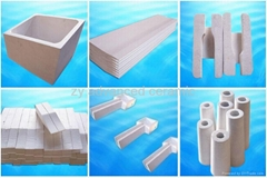Aluminum Silicate Castertips For The Continuous Aluminum Trip