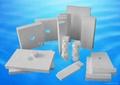 Abrasion resistant alumina ceramic tile