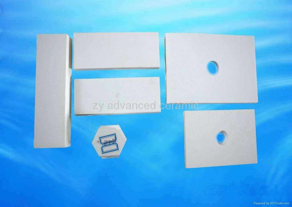 Abrasion resistant alumina ceramic tile 3