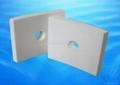 Abrasion resistant alumina ceramic tile 5