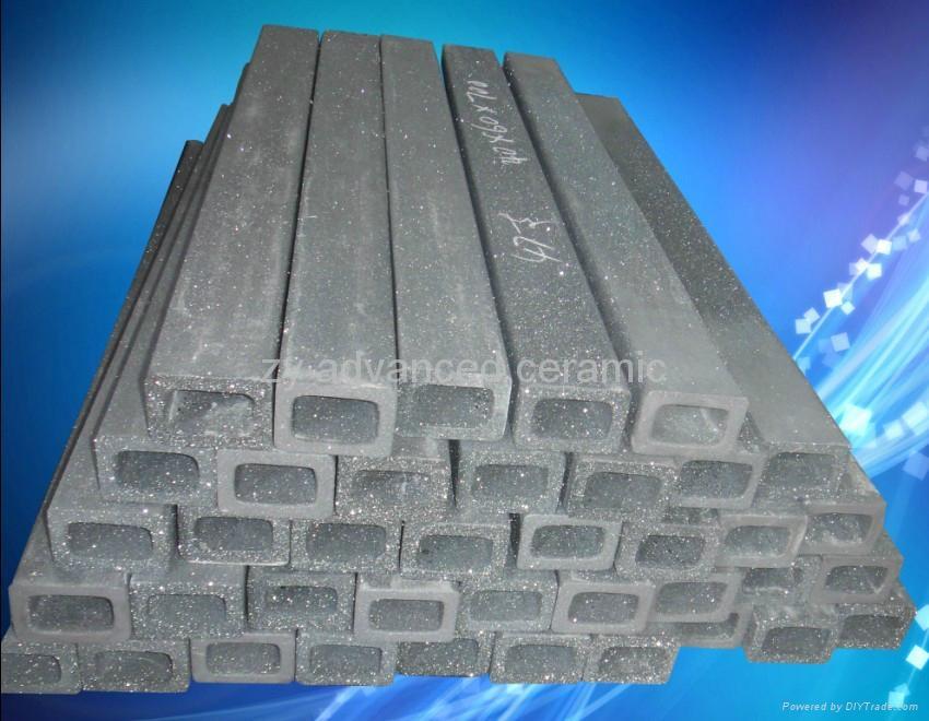 重結晶碳化硅橫梁用於窯爐中 1
