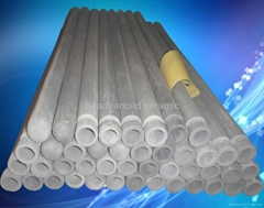 氮化硅热电偶保护套管用于铝熔液中