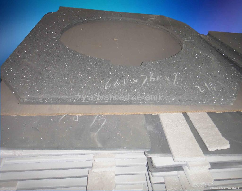工业用重结晶碳化硅棚板用在窑炉中
