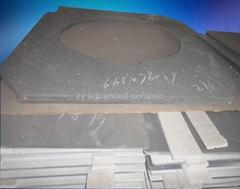 工業用重結晶碳化硅棚板用在窯爐中