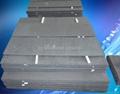耐高温结晶碳化硅棚板用在窑炉中