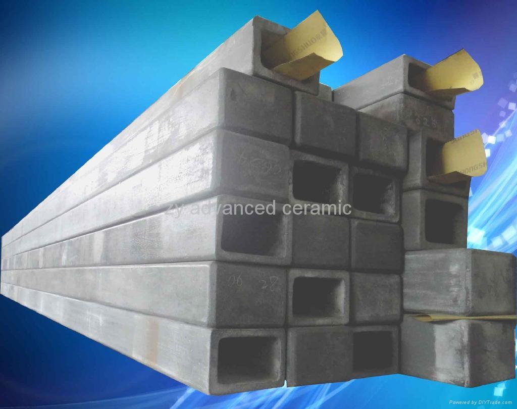 氮化硅結合碳化硅橫梁用於高溫窯爐中 1