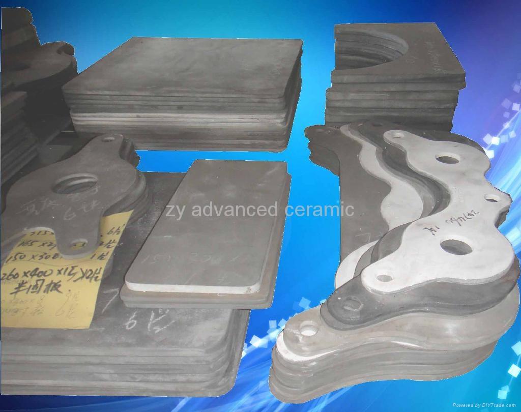 耐高溫氮化硅結合碳化硅棚板用於高溫窯爐中 1