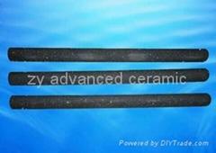 Heat resistant recrystallized silicon carbide Thermocouple Protection Tubes