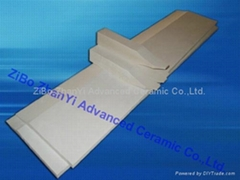 Aluminium Silicate caster tip for casting and rolling aluminium sheets
