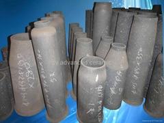 耐腐蝕重結晶碳化硅燒嘴用於窯爐中