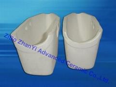 aluminum titanate ceramic Pouring Cup for melton metals