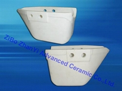 excellent heat-shock resistance ceramic Pouring Cup for melton metals