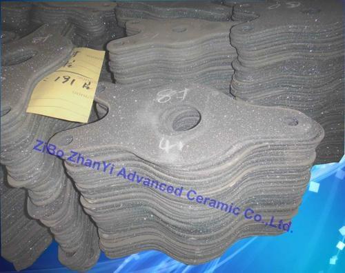 高品质重结晶碳化硅鱼形板用在窑炉中