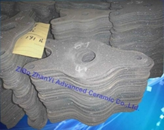 High Quality Recrystallized Silicon Carbide Fish Setters In Furnaces