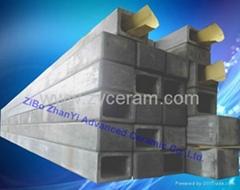 耐高溫氮化硅結合碳化硅橫梁用於高溫窯爐中