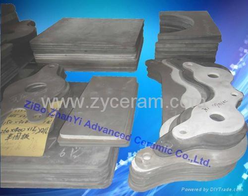 高质量氮化硅结合碳化硅棚板用于高温窑炉中 1