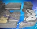 高质量氮化硅结合碳化硅棚板用于高温窑炉中