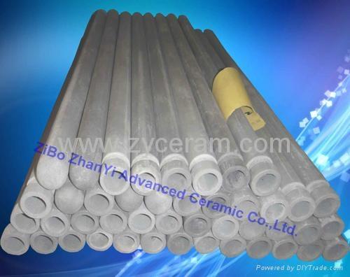 氮化硅熱電偶保護套用於鋁熔液中 1