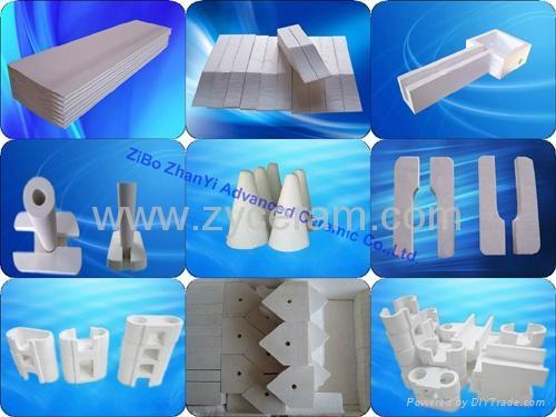 硅酸铝铸咀料用于连铸连轧 1