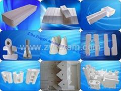 ceramic fiber nozzle board For Continuous Aluminum Trip