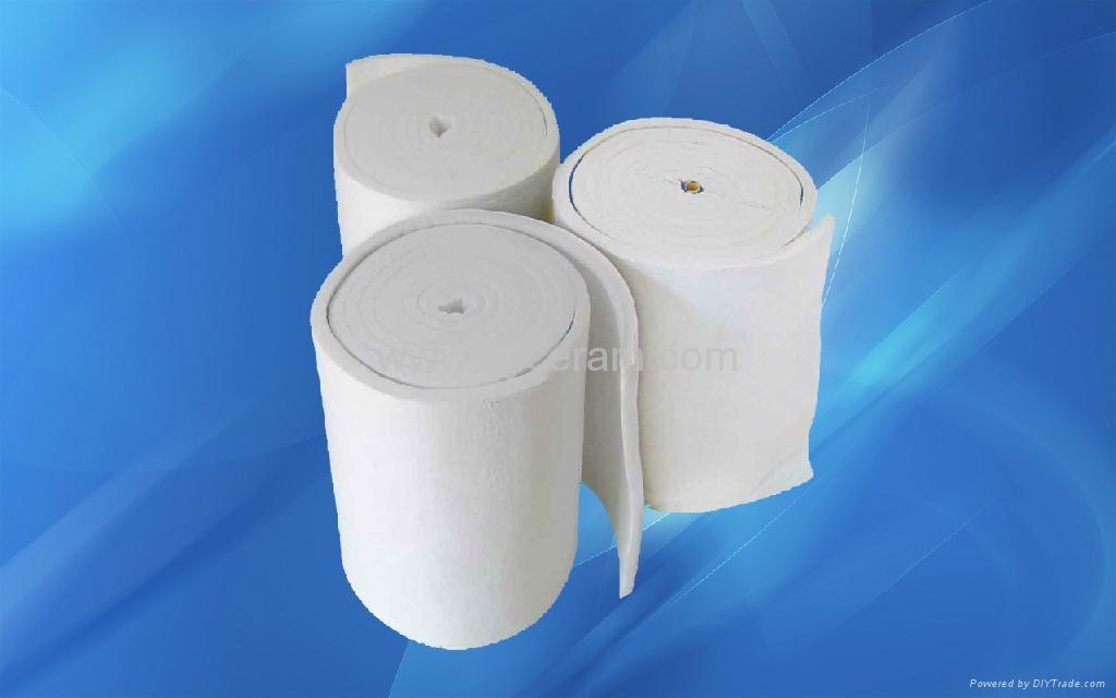 Aluminum Silicate Ceramic Fiber Blanket 1