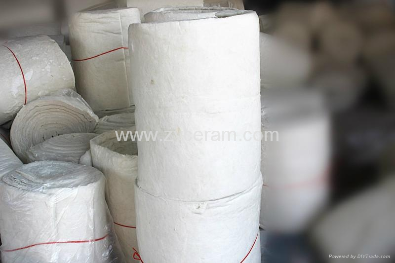 refractory Fire blanket for insulation 1
