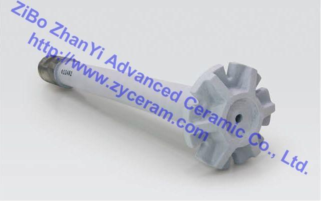 氮化硅结合碳化硅除气转子