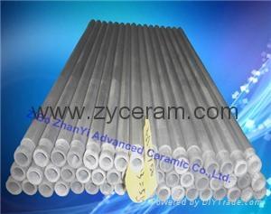 氮化硅热电偶保护套用于铝熔液中
