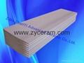 ceramic fiber tip for casting