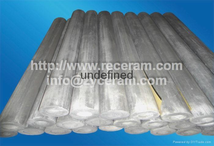 Si3N4 Bond SiC thermocouple ceramic tube for liquid aluminum