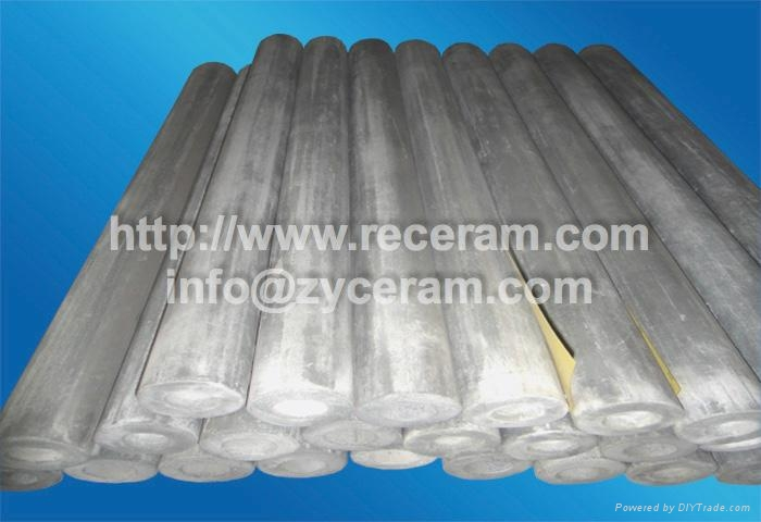 high thermal conductivity thermocouple protection ceramic tube for heating melts