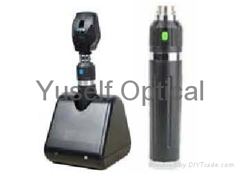 Rechargeable Ophthalmoscope Set