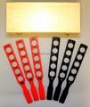 Retinoscopy Racks Set in Wooden Case