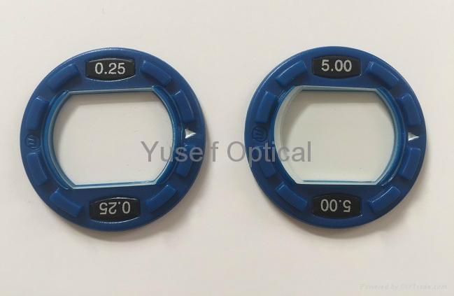 Prism Lens in Plastic Ring